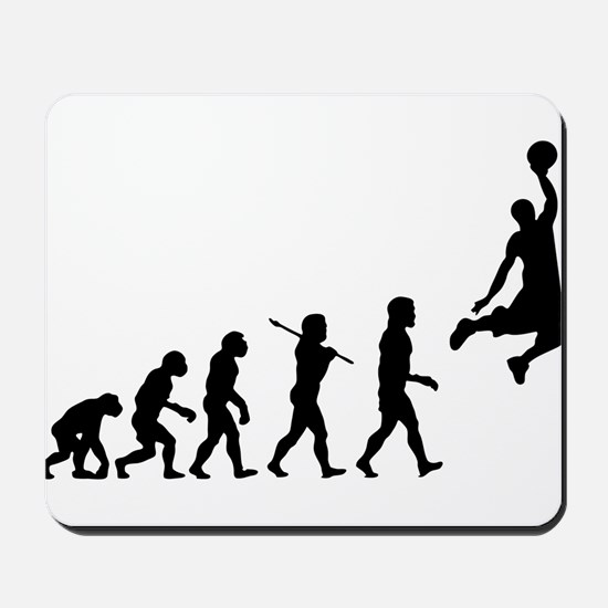 Basketball Evolution Jump Mousepad