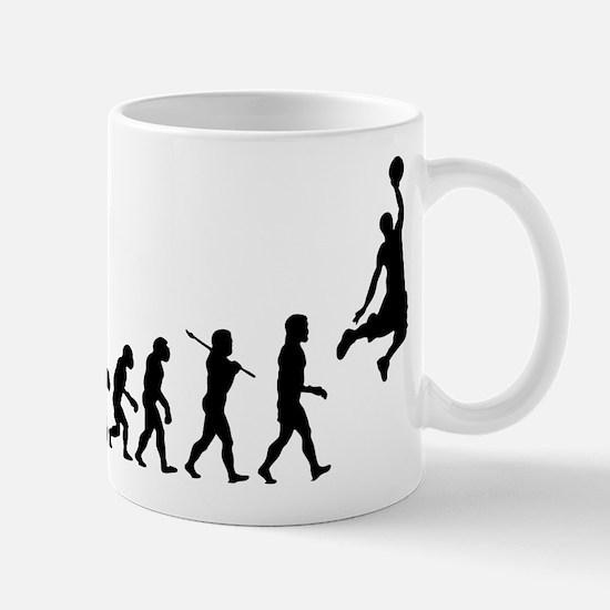 Basketball Evolution Jump Mug