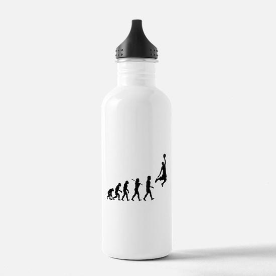 Basketball Evolution Jump Water Bottle
