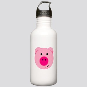 Cute Pink Pig Stainless Water Bottle 1.0L