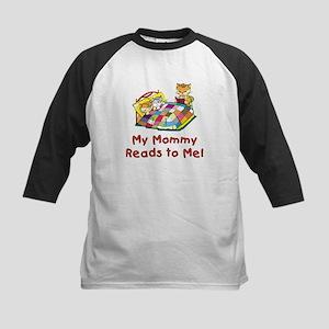 Mommy Reads Kids Baseball Jersey