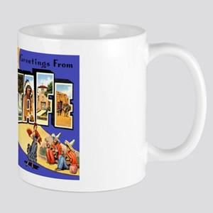 Santa Fe New Mexico Greetings Mug