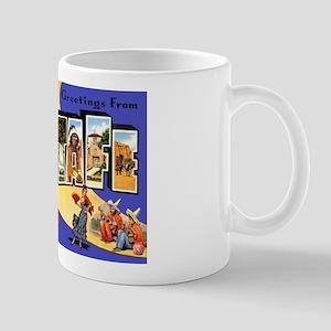 Santa Fe New Mexico Greetings Mug