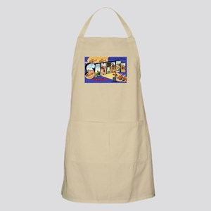 Santa Fe New Mexico Greetings BBQ Apron
