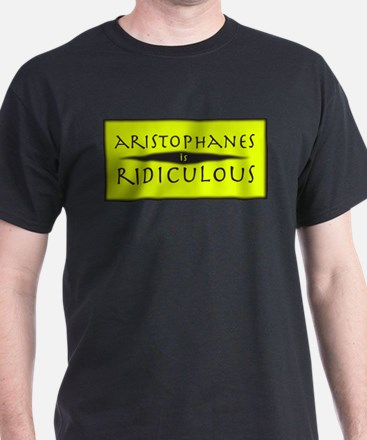 Aristophanes - Black T-Shirt
