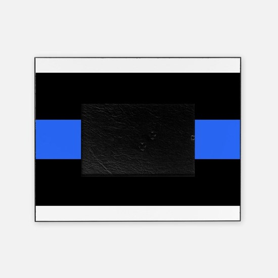 Cute The thin blue line Picture Frame