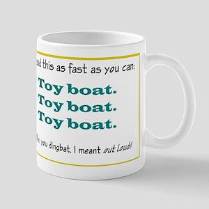 Toy boat Mug
