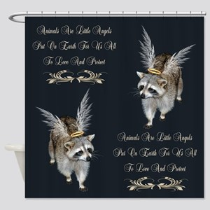 Animals Are Little Angels Shower Curtain