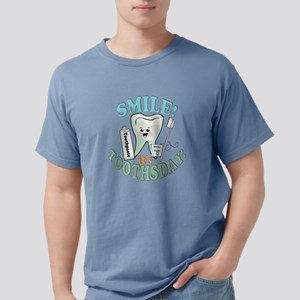 SmileItsToothsday Mens Comfort Colors Shirt