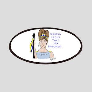 Spartan Ladies Take No Prisoners! Patches