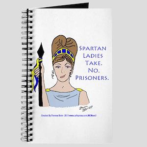 Spartan Ladies Take No Prisoners! Journal