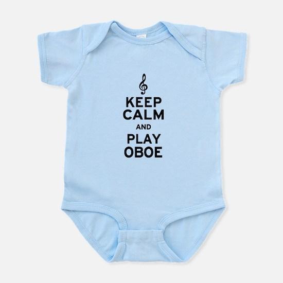 Keep Calm Oboe Infant Bodysuit