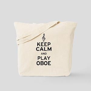 Keep Calm Oboe Tote Bag