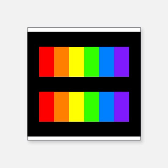 Equality Rectangle Sticker