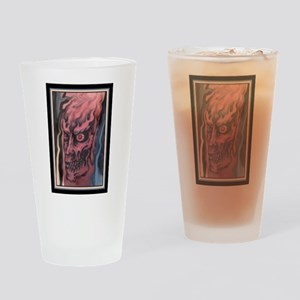Zombie Tattoo Drinking Glass