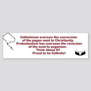 Paganism Conversion Bumper Sticker Bumper Sticker