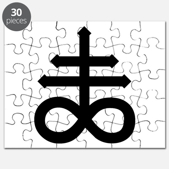 Hermetic Alchemical Cross Puzzle