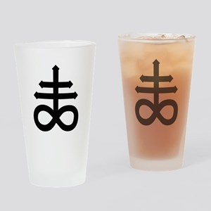 Hermetic Alchemical Cross Drinking Glass