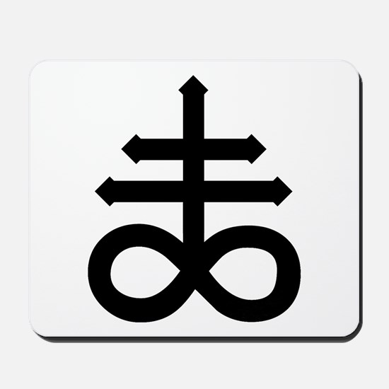 Hermetic Alchemical Cross Mousepad