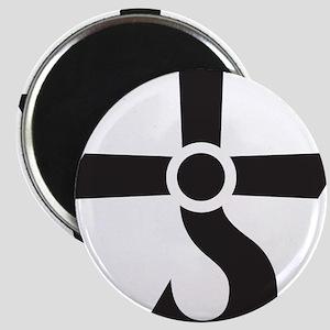 CROSS OF KRONOS (MARS CROSS) Black Magnet