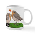 Robin red breast bird love Mug
