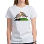 Robin red breast bird love Women's T-Shirt