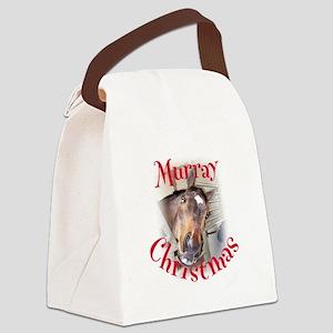 Murray Christmas Canvas Lunch Bag