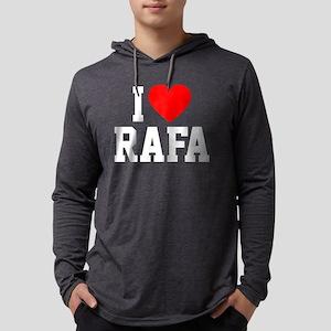 Heart Rafa -dk Mens Hooded Shirt