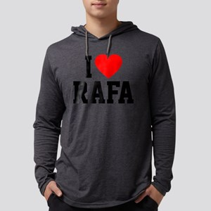 Heart Rafa Mens Hooded Shirt