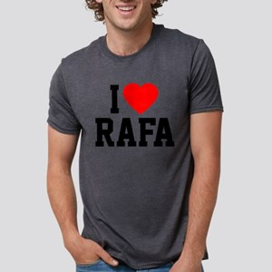 Heart Rafa Mens Tri-blend T-Shirt