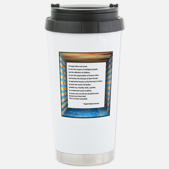 The Nature of Success Stainless Steel Travel Mug