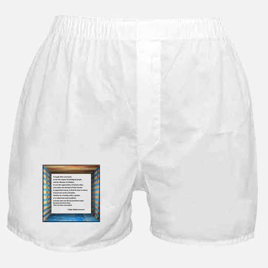 The Nature of Success Boxer Shorts