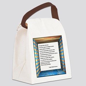 The Nature of Success Canvas Lunch Bag