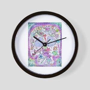 FANCY SLULL Wall Clock