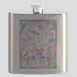 FANCY SLULL Flask