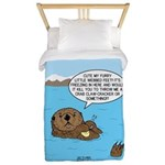 Mad Sea Otter Twin Duvet