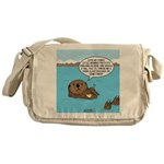 Mad Sea Otter Messenger Bag
