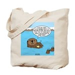 Mad Sea Otter Tote Bag