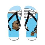 Mad Sea Otter Flip Flops