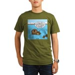 Mad Sea Otter Organic Men's T-Shirt (dark)