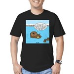Mad Sea Otter Men's Fitted T-Shirt (dark)