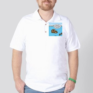 Mad Sea Otter Golf Shirt