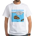 Mad Sea Otter White T-Shirt
