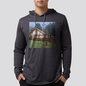 3-5x5 Structure1 Mens Hooded Shirt