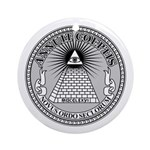 Eye of Providence Ornament (Round)