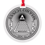 Eye of Providence Round Ornament