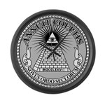 Eye of Providence Large Wall Clock