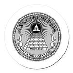 Eye of Providence Round Car Magnet