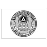 Eye of Providence Large Poster