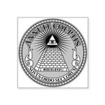 Eye of Providence Square Sticker 3
